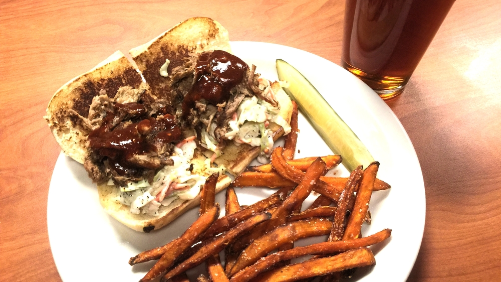 The Pulled Pork Sandwich