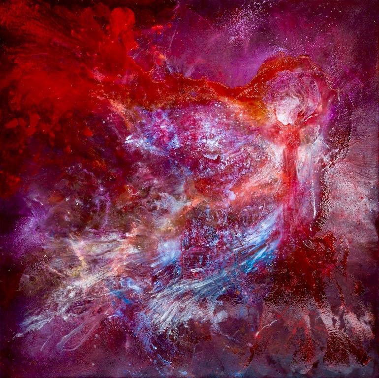 CYGNUS, 2015-16, oil on canvas, 170cm x 170cm