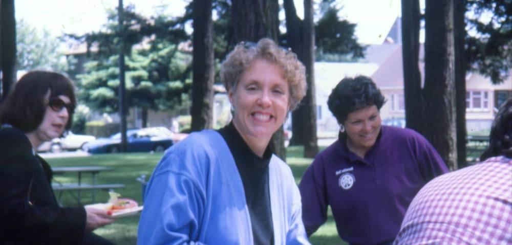 Lisa at PP&R picnic. Courtesy Portland Parks & Recreation