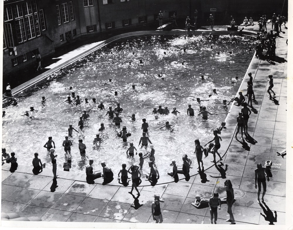 The Parks Department First Started Developing Outdoor Swimming Pools As Public Bathing Facilities In Early 1900s Few People