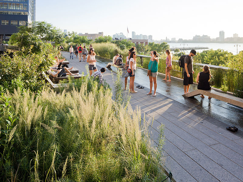 View: How Public Spaces Make Cities Work Photo courtesy Friends of the Highline