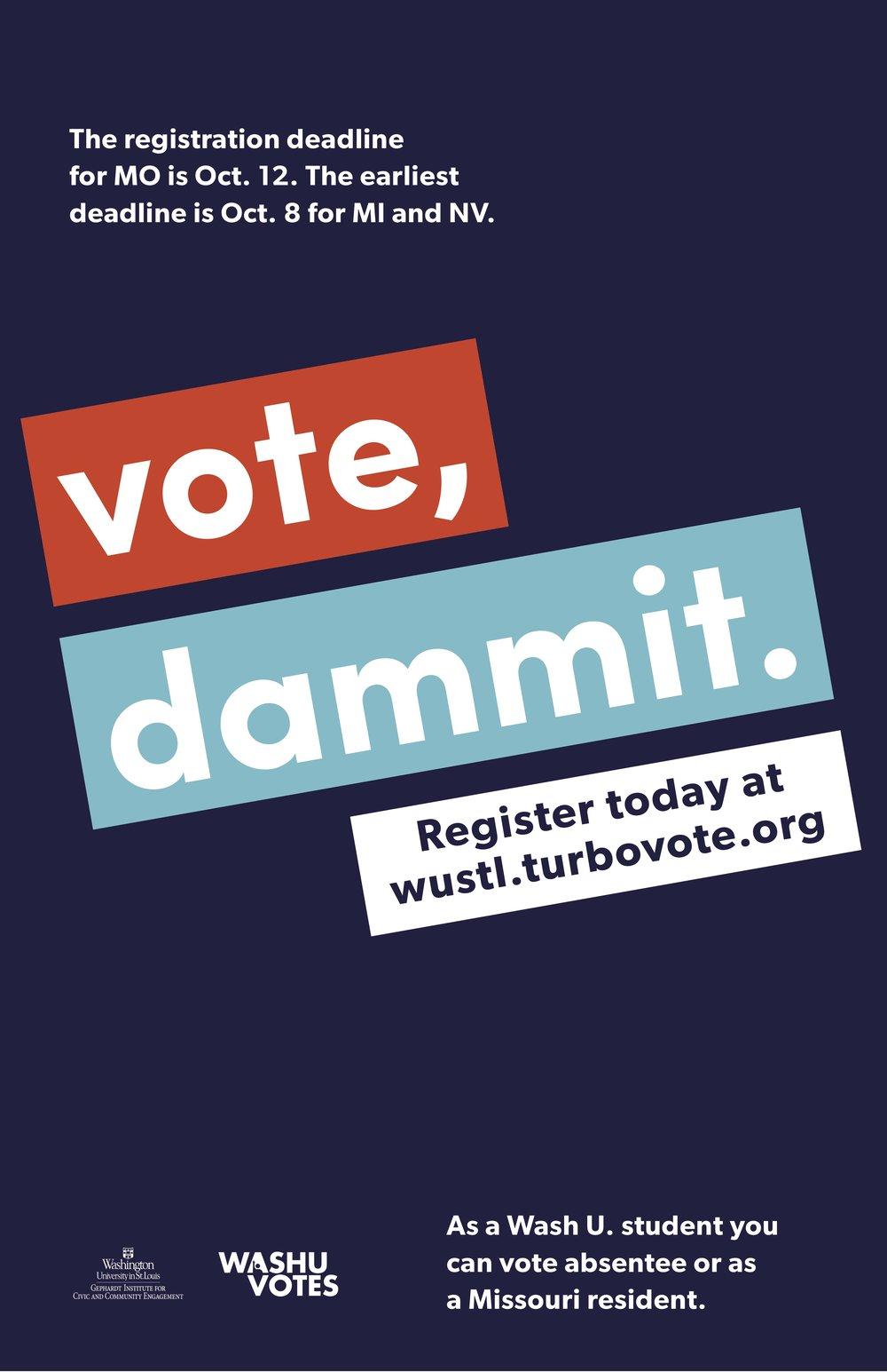 vote dammit rachel healey