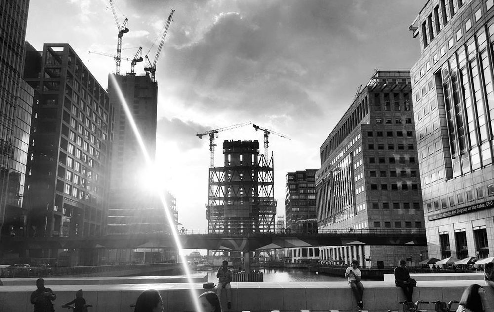 #canarywharf #london #blackandwhite #architecture #construction #londonarchitecture.jpg