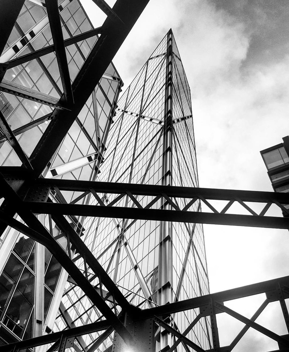Check out that damn fine piece of glass.#London #londonarchitecture #blackandwhite #architecture.jpg