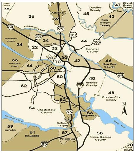 Prince William County Zip Code Map.Snipes Properties