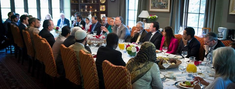 Breaking Bread and Building Bridges: Amb. Ebrahim Rasool, of South Africa, welcomes international Muslim and Jewish Leaders to a brunch discussion on Abrahmic unity