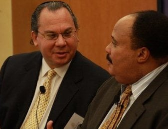 Rabbi Marc Schneier and Martin Luther King III