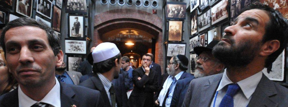 European Mission of Imams and Rabbis, organized by FFEU, visits the Holocaust Museum in Washington D.C. in 2009