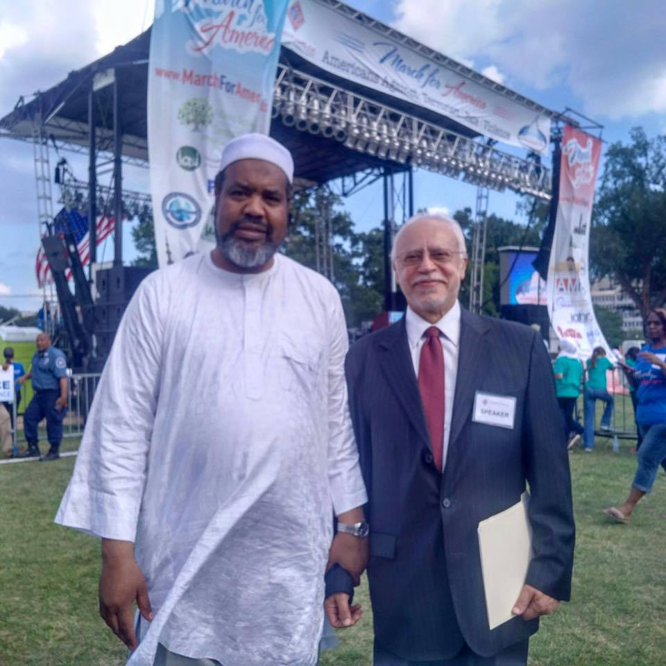 Imam Mohammed Magid and Ahmed Elhattab
