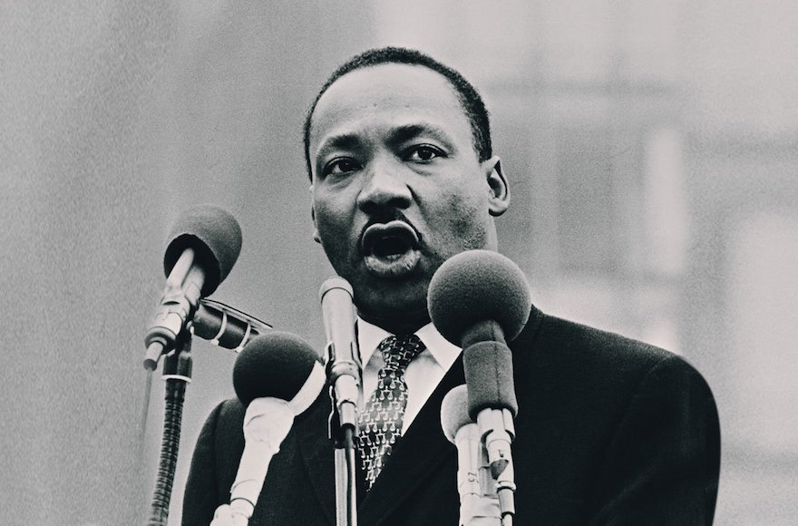 The Rev. Martin Luther King Jr. (Wikimedia Commons) As we celebrate the birthday of Martin Luther King Jr., American Jews should reflect anew upon the epic struggle he led to free African-Americans from the shackles of bigotry and take pride in the singular role played by the Jewish community in support of King and African-Americans. Read more...