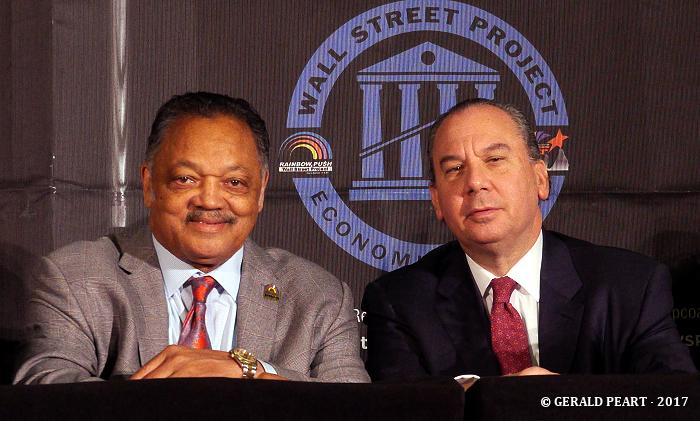 Rev. Jesse Jackson and Rabbi Marc Schneier.
