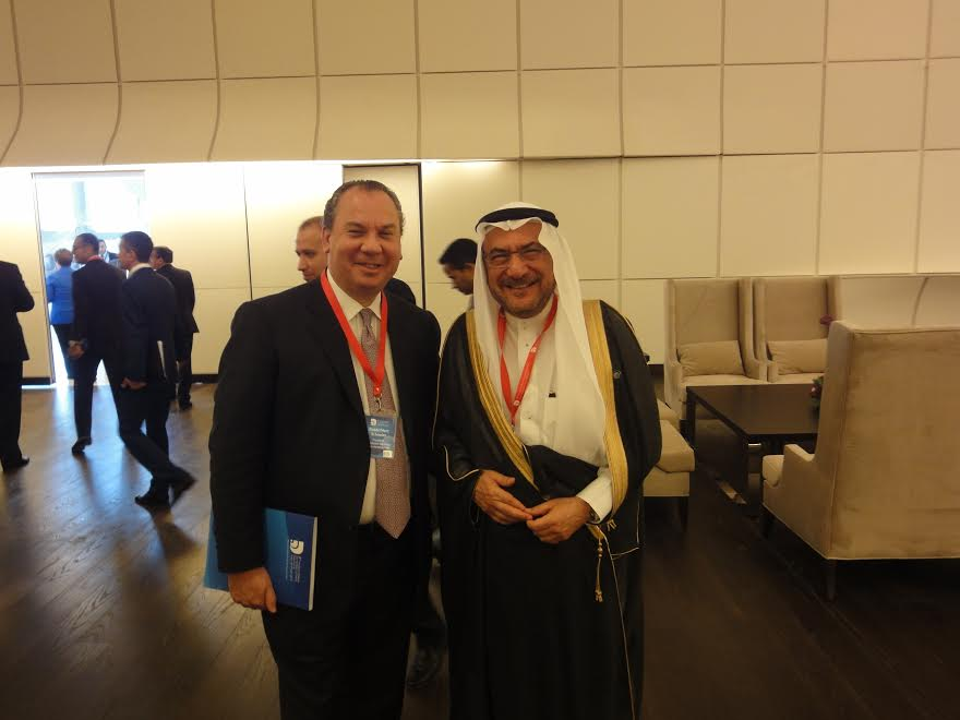 FFEU President Rabbi Marc Schneier (L) and Secretary General of the Organization of Islamic Cooperation H.E. Iyad bin Amin Madani.