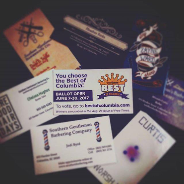 #freetimes #VOTEFORUS #bestbarbershop #visitandvote #wereallyarethebest @curtisworsham @zanewithay @dbstylist @showcasebarbers @sherronfrederick