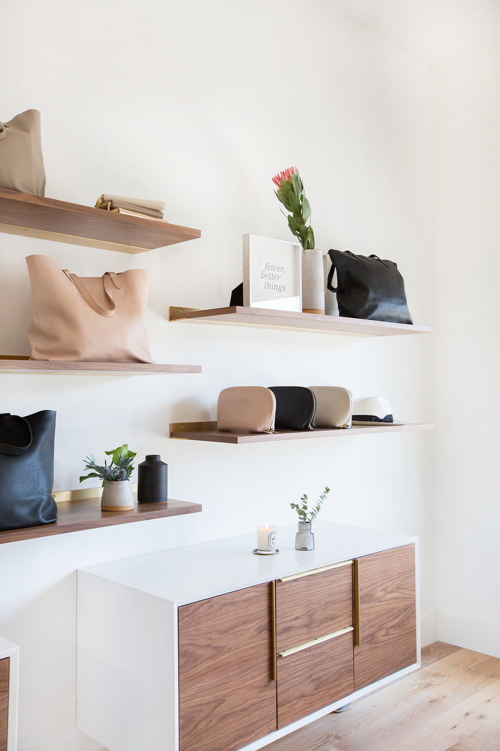 Lauren Nelson Design // Cuyana Venice Showroom