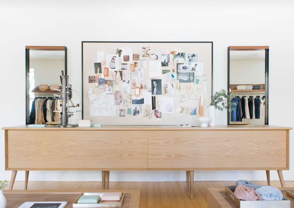 Lauren Nelson Design // Cuyana SF Showroom