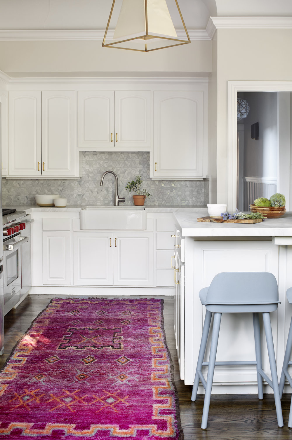 Lauren Nelson Design // California St Home // Kitchen