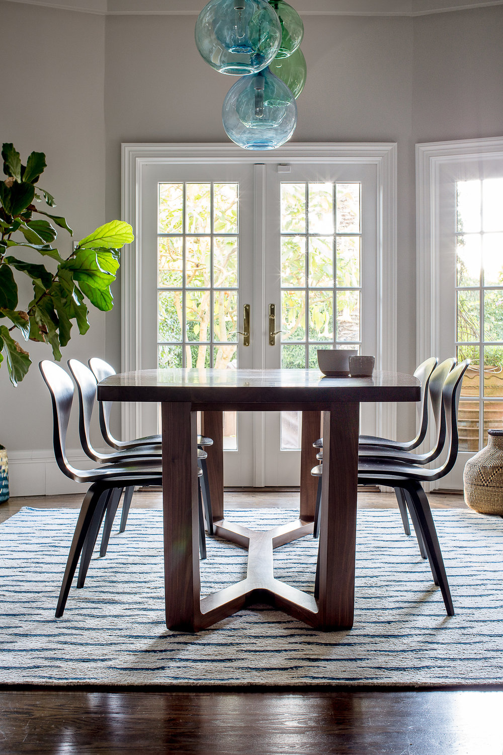 Lauren Nelson Design // California St Home // Dining