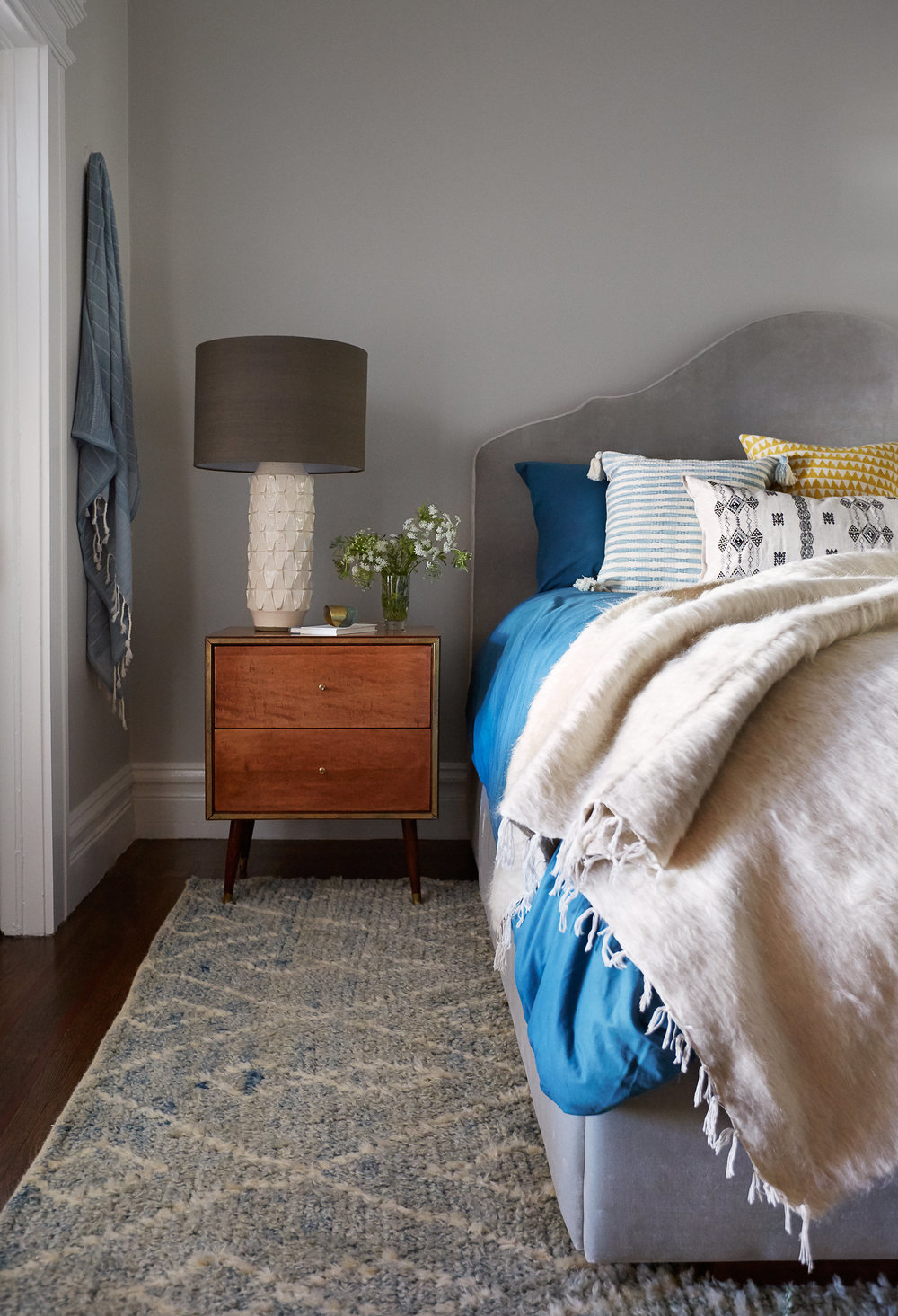 Lauren Nelson Design // California St Home // Master Bedroom