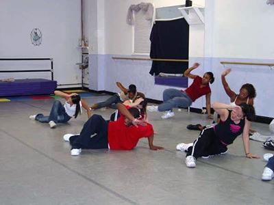 Hiphop class circa 2003/2004