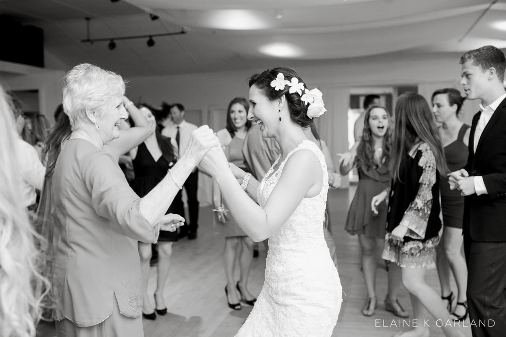 Always, always, always....dance with grandma at your wedding. <3