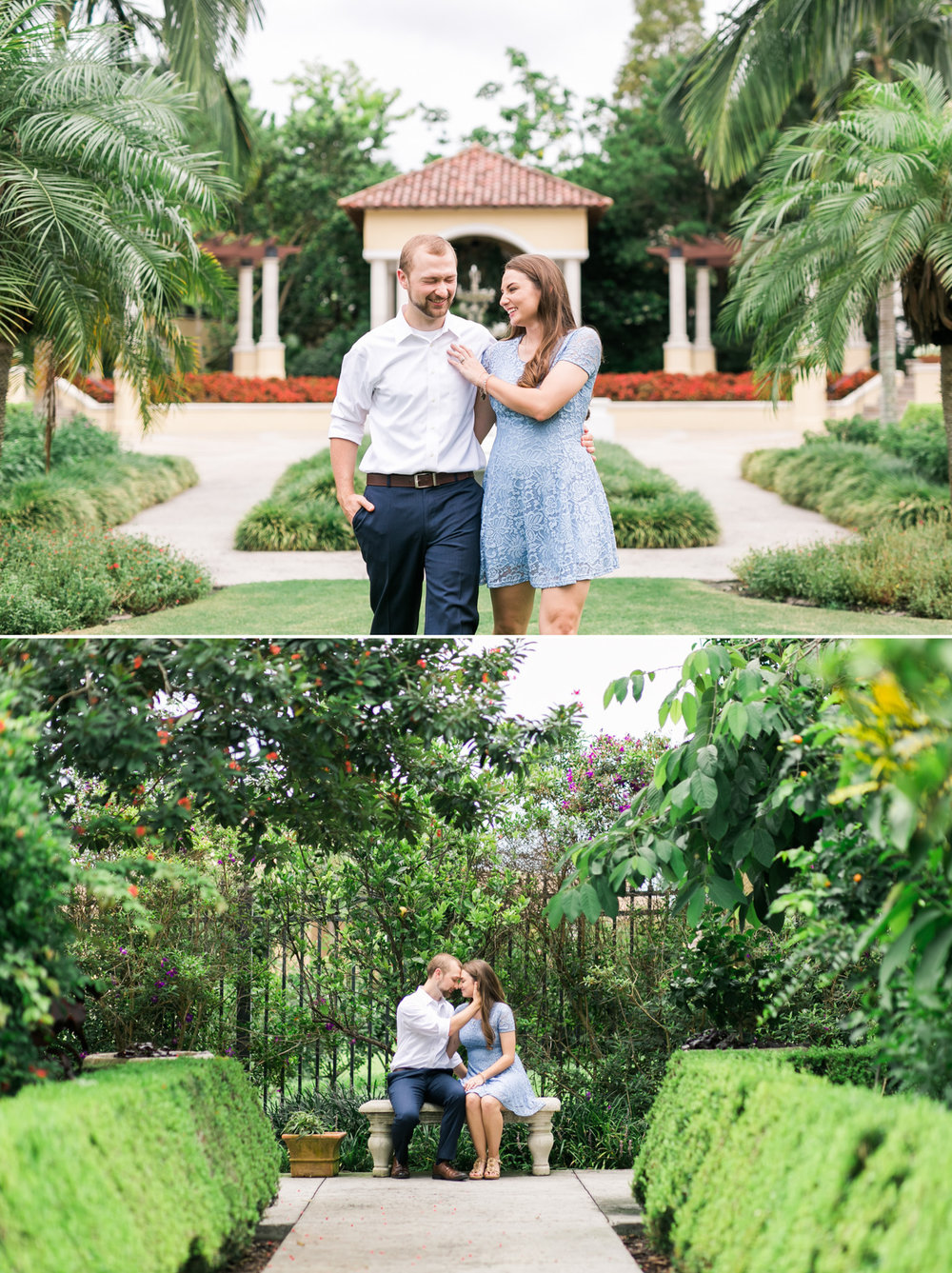CONNOR + KALEY | HOLLIS GARDENS ENGAGEMENT - LAKELAND, FL — Elaine K ...