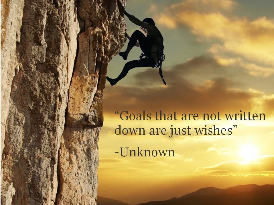 Climb To Your Goals