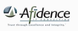 afidence logo