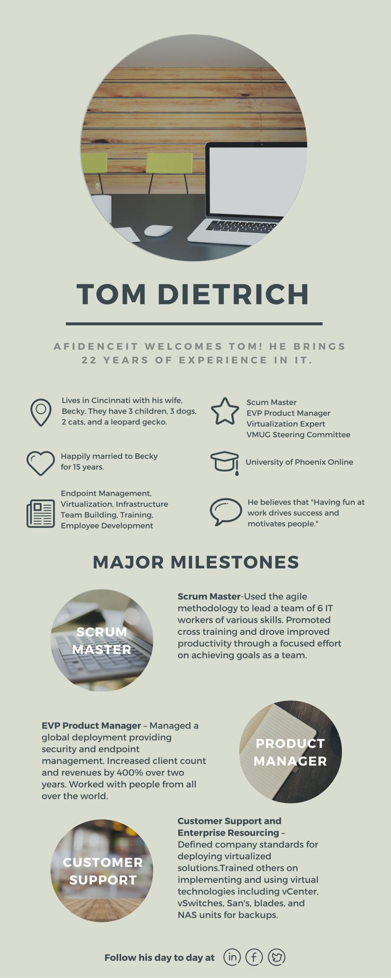 Meet Tom Dietrich