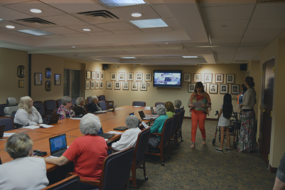 Cyber-Seniors Event-#AfidenceInAction
