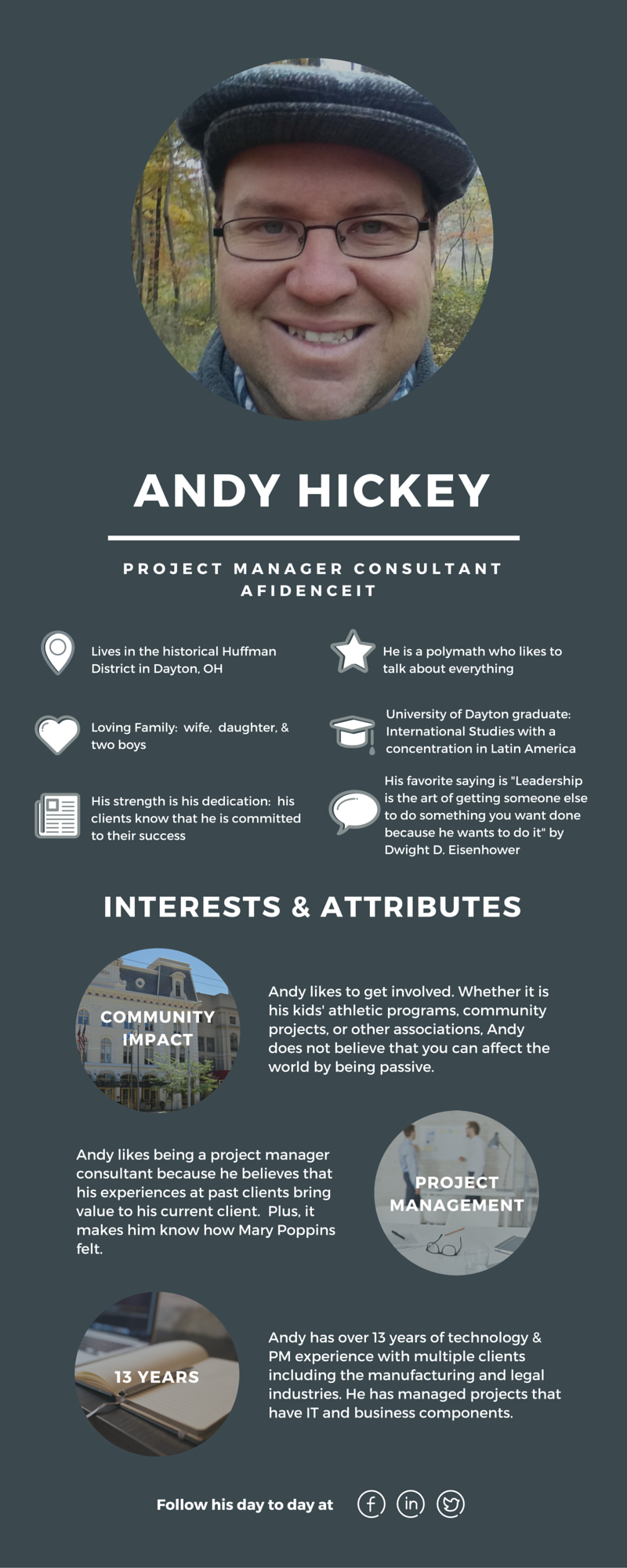 Meet Andy Hickey, Project Manager Consultant for AfidenceIT