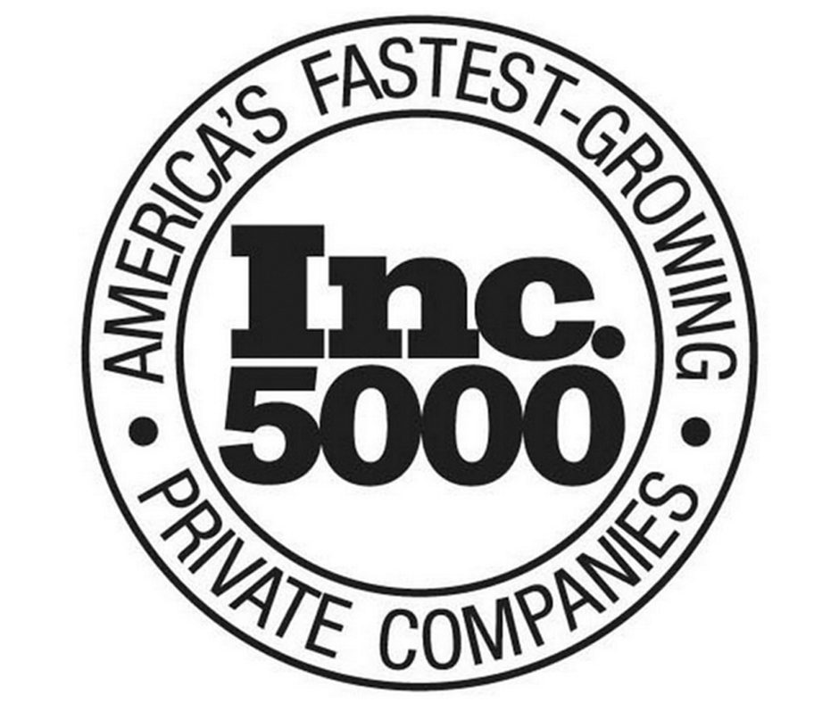 Afidence recognized on Inc. 5000 list . . . again!
