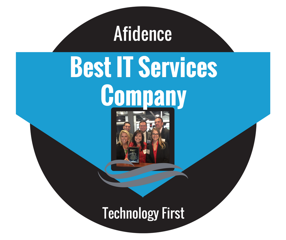 Afidence Wins Best IT services Company Through Technology First.png