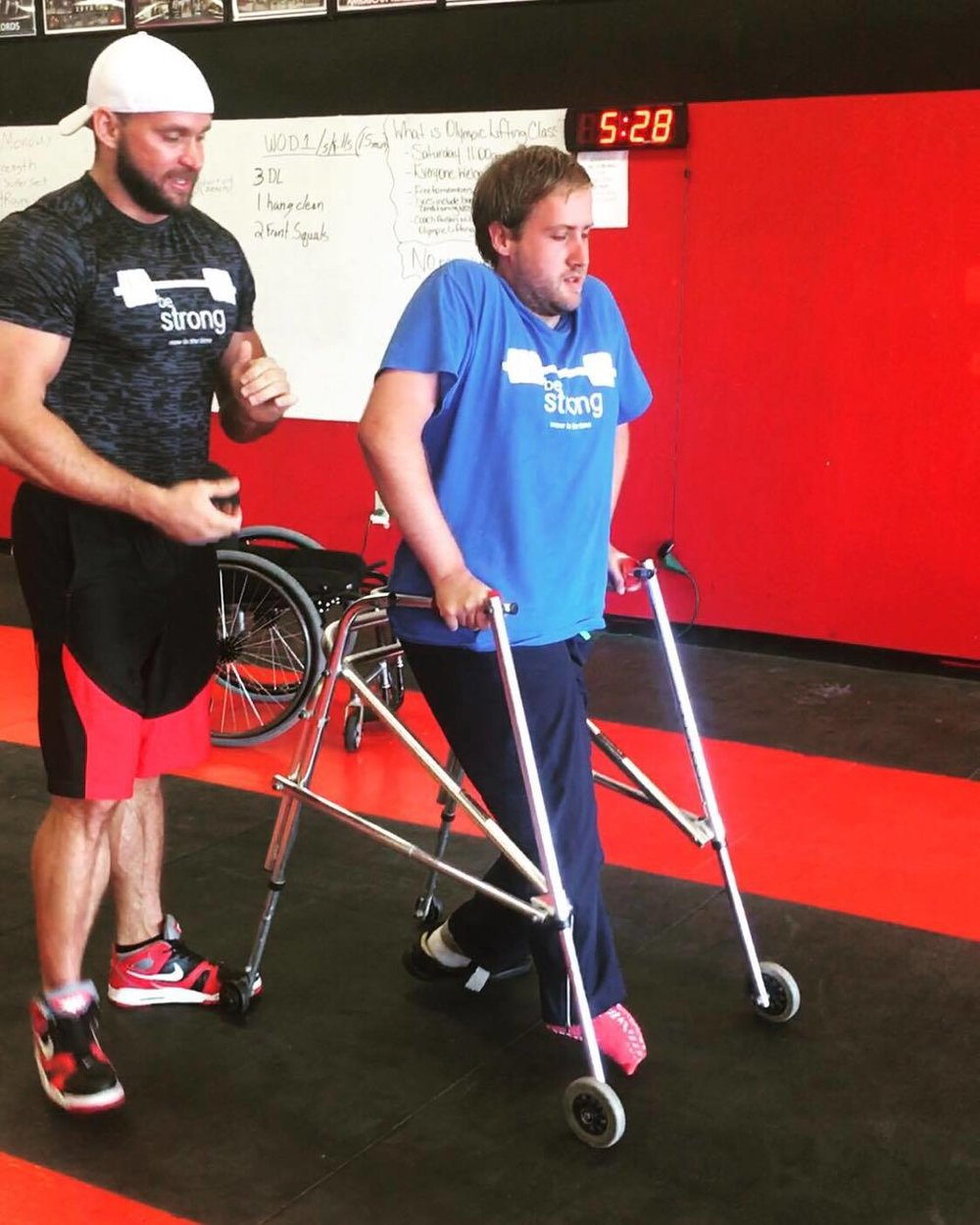 I know now, with the correct training and dedication from Drew and coaches at Be Strong, there is nothing I cannot do. Click to see Matt's story.