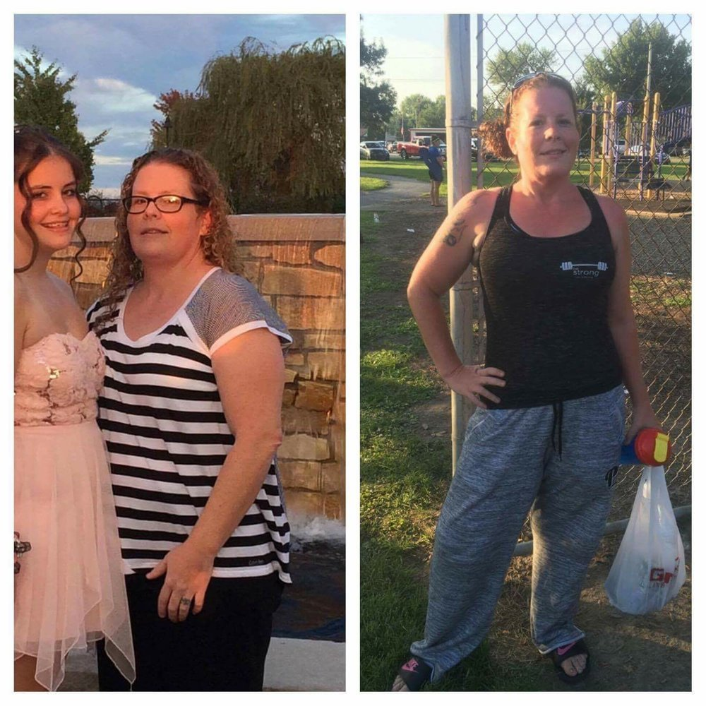 I am almost 100 pounds lighter and I take zero meds. Click here to see Michelle's story.