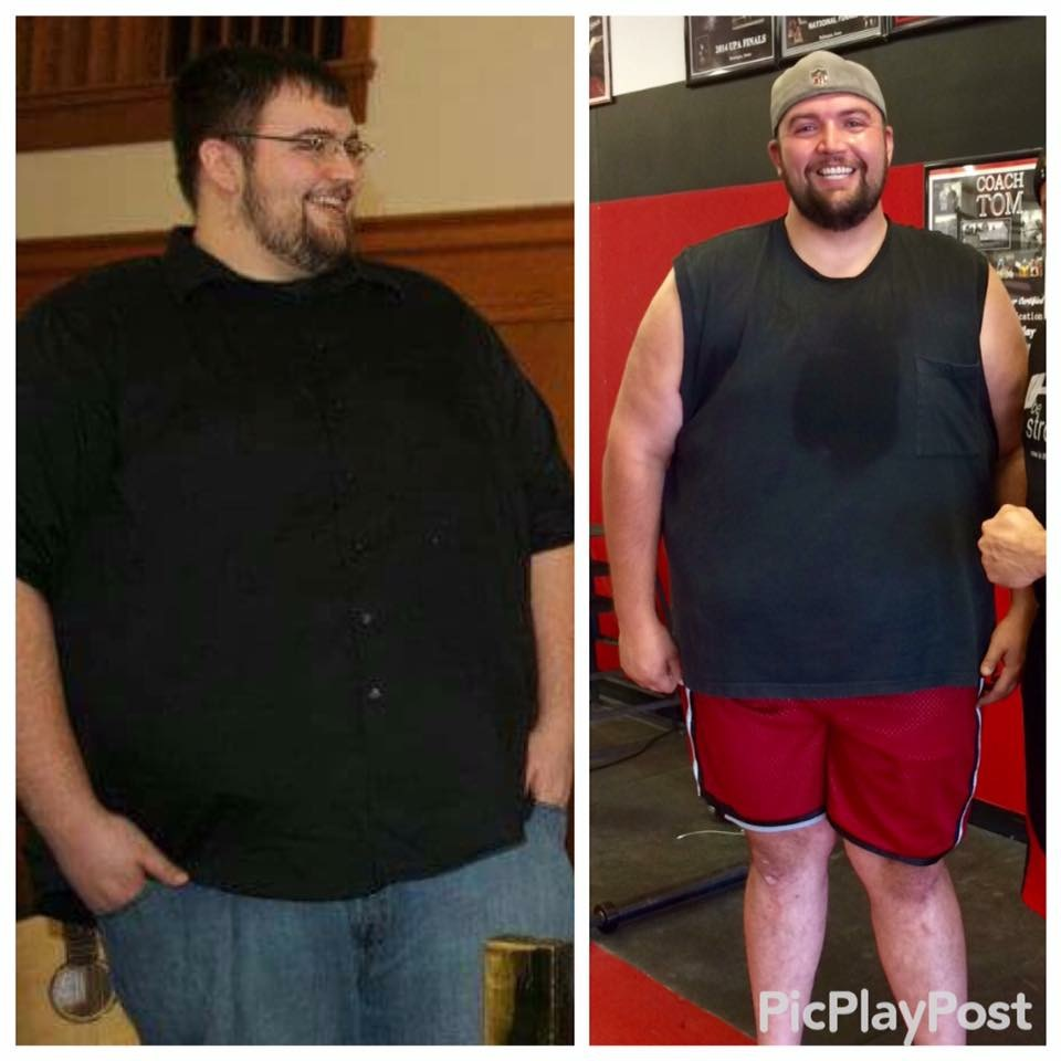 In October 2012 I weighed 500.5 pounds.  Click to see Mark's Story