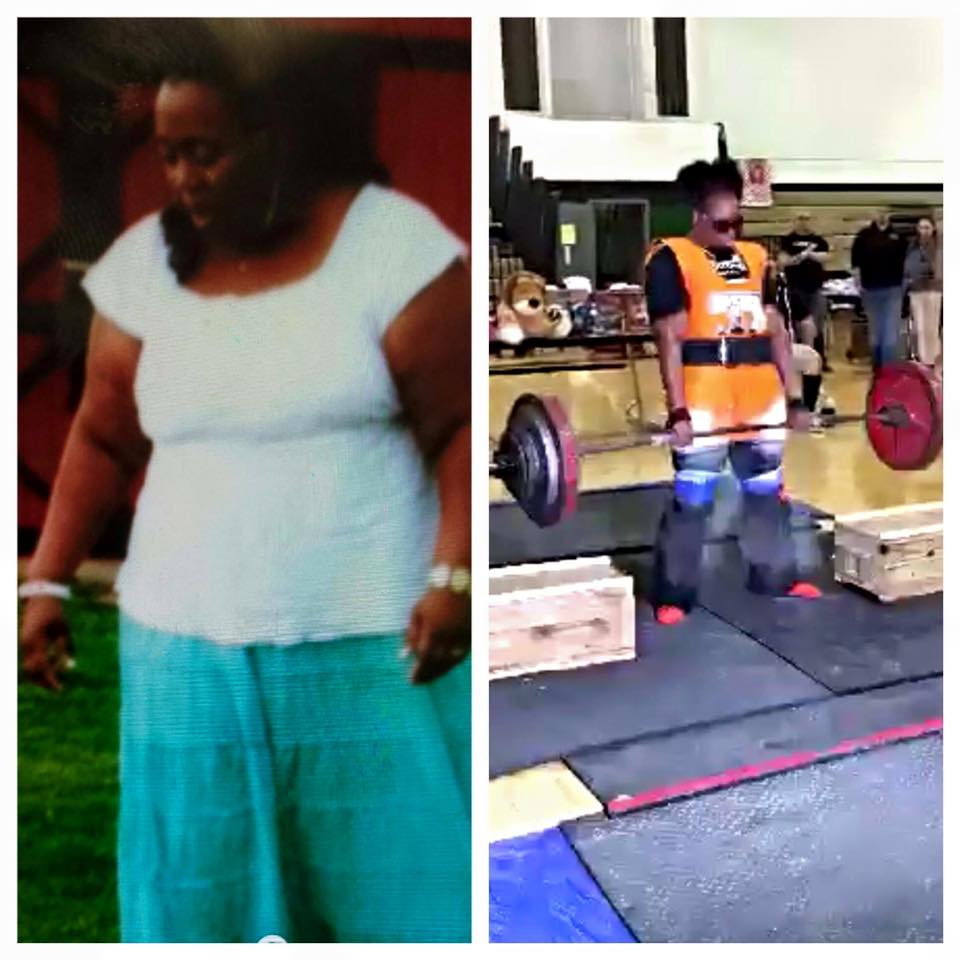 "Although training is tough, the individuals who do it are motivating and encouraging, both to novice and more vetted athletes, something I couldn't find at the ""commercial"" gyms. Click to see Tamecia's story."