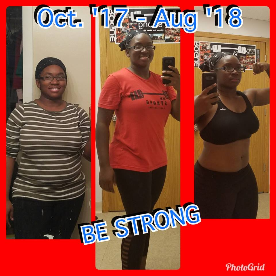 I started this journey at 193 lbs and now am happy to say I'm 163 lbs 2 pants size down with toner abs, arms and thighs.     Click here for the full story!!