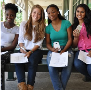 YMCA Teen Achievers use the Going2College text message alerts to stay on track during the college application season.