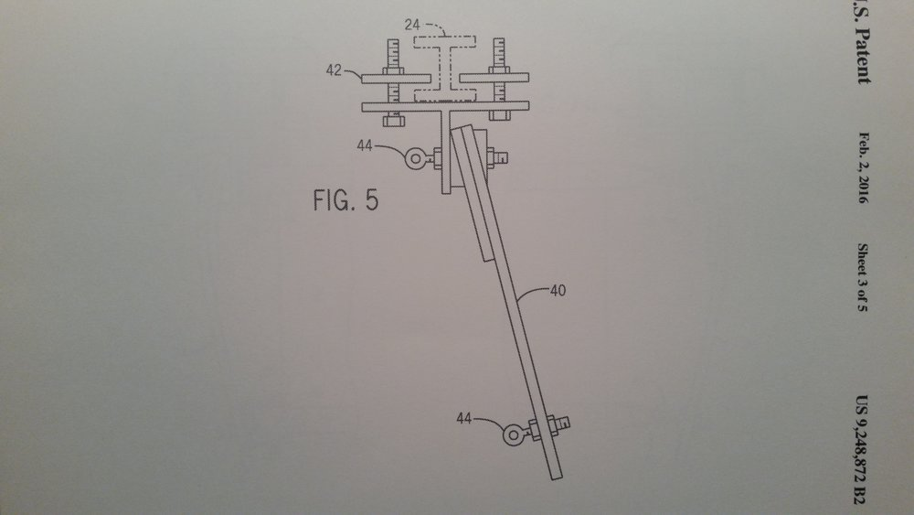 patent of flex arm clamp