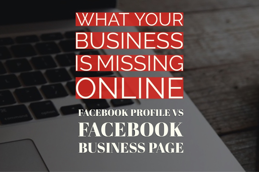 The difference between Facebook profiles and Facebook pages for your business