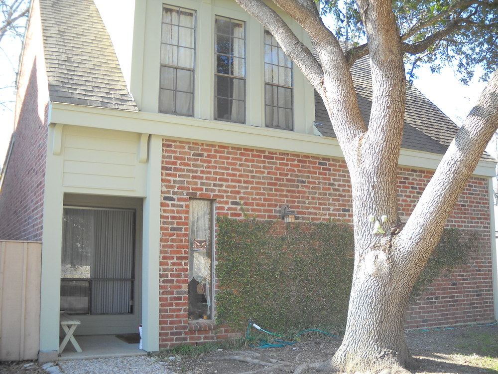 Stearns Design Build replacing siding in Bryan / College Station. Finished Product.