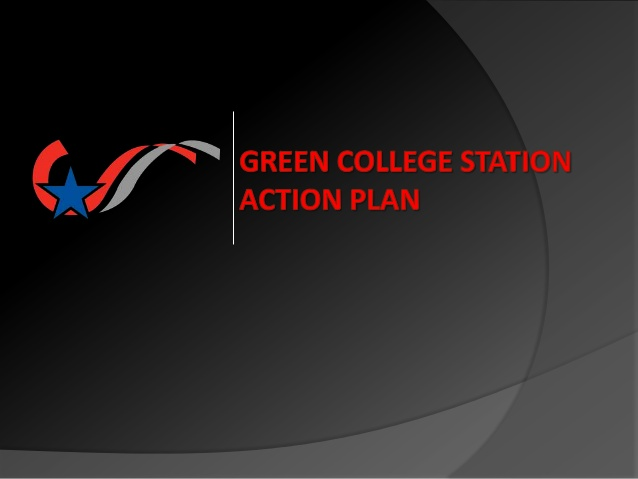 College Station has a plan to go green!