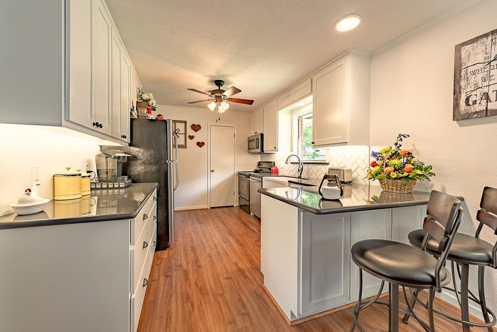 Kitchen remodel in Bryan / College Station, by Stearns Design Build.