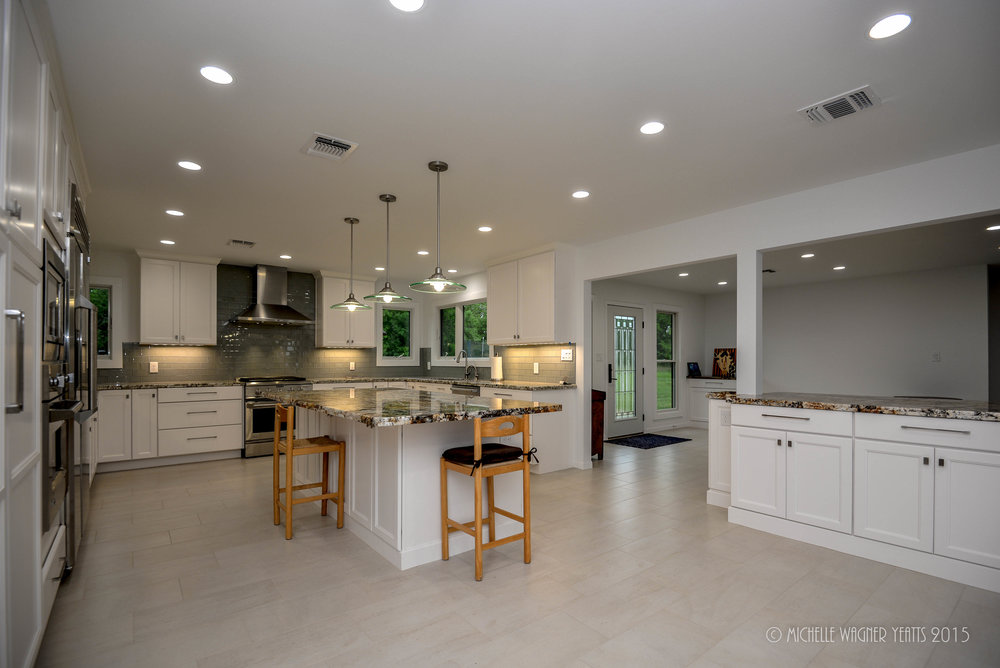Modern Kitchen Remodel College Station