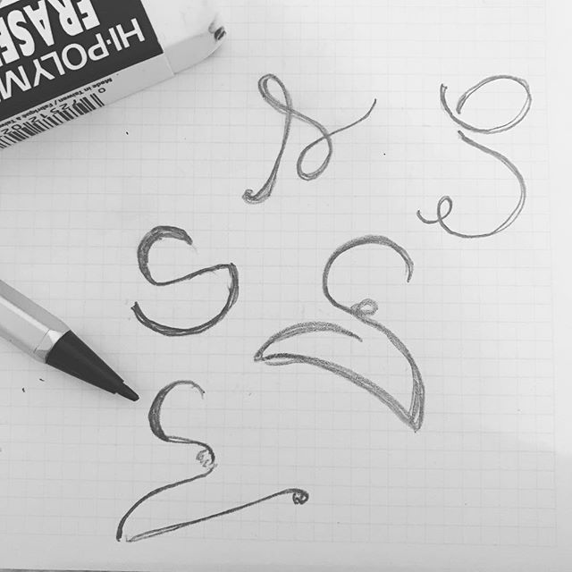Sketching some S's #branding #design #chicago #logo #marketing #sketching #handlettering #letters #s 💡🗒✏️