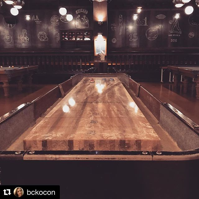 #Repost @bckocon ・・・ Getting competitive at our Convier team outing. #gameroom #inspiring #masterminds #teamouting #shuffleboard #fun #conviercollective