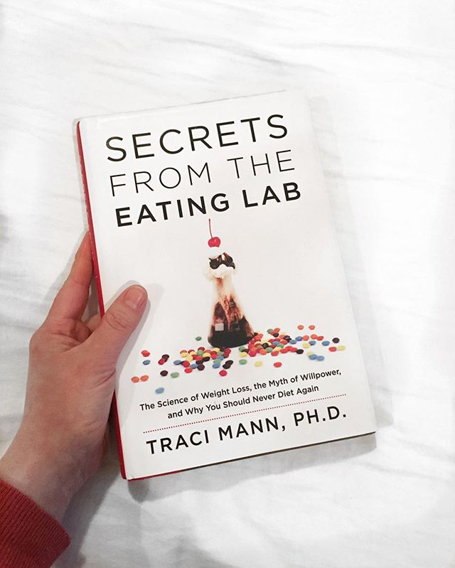 """For all you, """"show me the research"""" peeps out there (🤓❤️🙌🏼) we recommend treating your brain and soul this Valentine's Day to this mind-blowing book by Traci Mann exposing the dieting industry. *We'd also love to know what books have been feeding your soul this year below.* . Traci Mann was a professor at UCLA for nine years before moving to the University of Minnesota and founding the Health and Eating Lab. Her research has been funded by the NIH, the USDA, and NASA, and is published in dozens of scholarly journals. She has received teaching awards at Stanford, UCLA, and the University of Minnesota, is the president of the Social Personality and Health (SPH) Network, and is an elected fellow of the Association for Psychological Science, The Society for Experimental Social Psychology, and the American Psychological Association. (Aka... she knows her sh*t) . Happy Valentine's Day ladies. Keep the love going strong for yourself and others today! ❤️"""