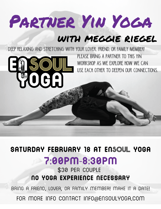 Partner Yin Yoga Workshop