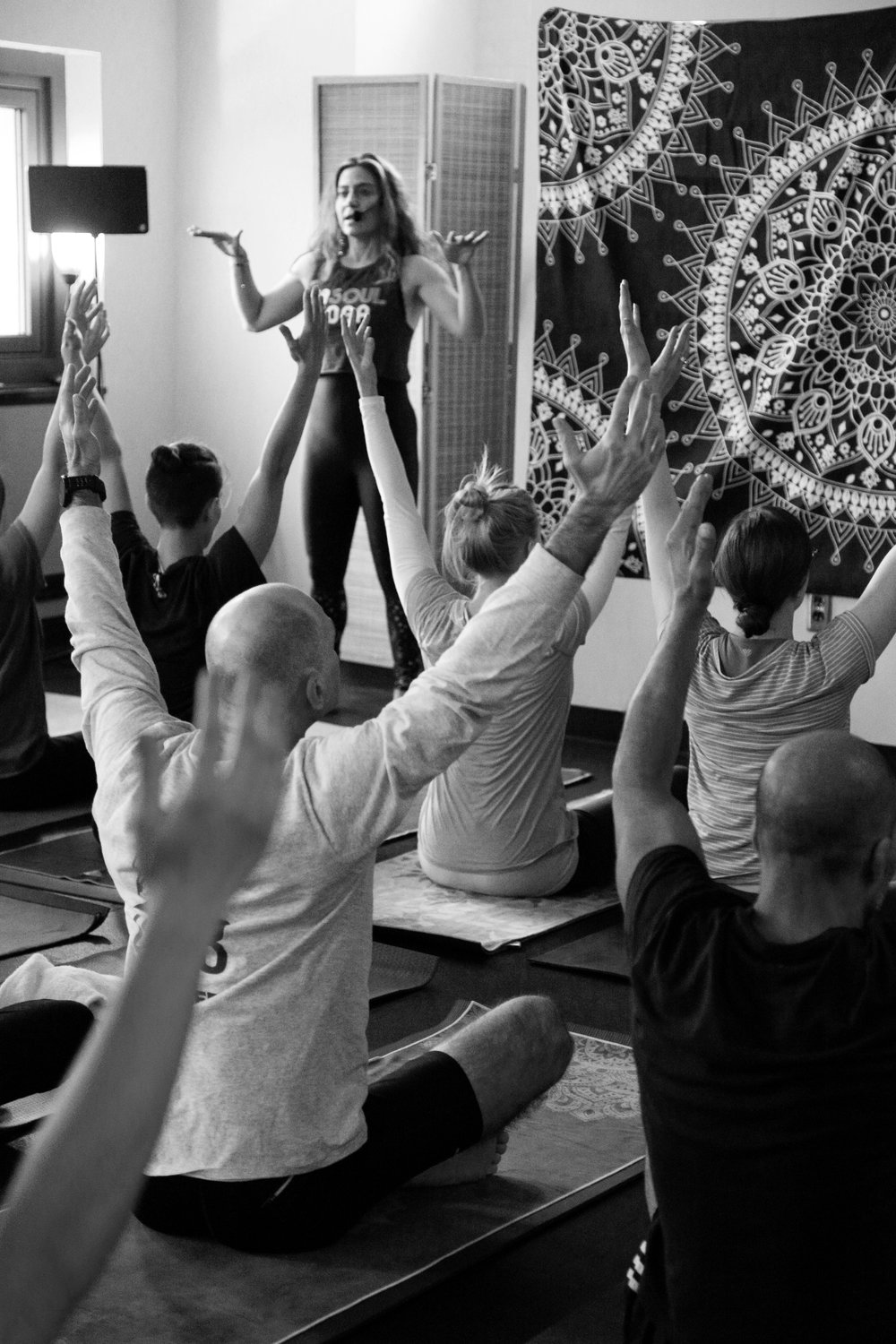 At EnSoul Yoga we work hard on our physical position, and even harder on our mental disposition.