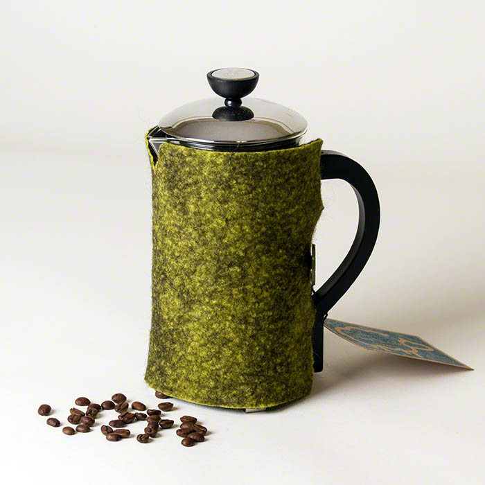 Wet Felted French Press Coffee Cozy